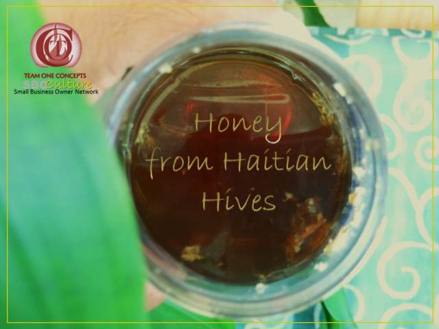 http://toctown.com Honey from Haitian Hives. #fatherHOOD #SBOCulture